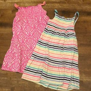 Bundle of 2 Carters 3T Dresses